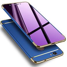 Custodia Lusso Alluminio per Huawei Nova Blu