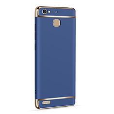 Custodia Lusso Alluminio per Huawei P8 Lite Smart Blu
