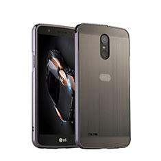 Custodia Lusso Alluminio per LG Stylus 3 Argento