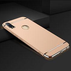 Custodia Lusso Metallo Laterale e Plastica Cover M01 per Huawei Honor View 10 Lite Oro