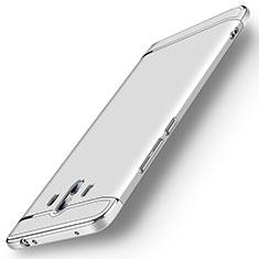Custodia Lusso Metallo Laterale e Plastica Cover M01 per Huawei Mate 10 Argento