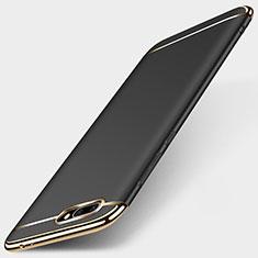 Custodia Lusso Metallo Laterale e Plastica per Huawei Honor 10 Nero