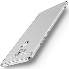 Custodia Lusso Metallo Laterale e Plastica per Huawei Mate 8 Argento