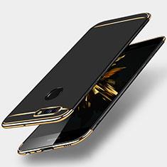Custodia Lusso Metallo Laterale e Plastica per Huawei Nova 2 Plus Nero
