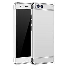 Custodia Lusso Metallo Laterale e Plastica per Xiaomi Mi 6 Argento