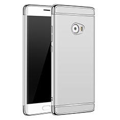 Custodia Lusso Metallo Laterale e Plastica per Xiaomi Mi Note 2 Special Edition Argento