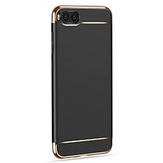 Custodia Lusso Metallo Laterale e Plastica per Xiaomi Mi Note 3 Nero