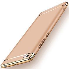 Custodia Lusso Metallo Laterale e Plastica per Xiaomi Mi Note Oro