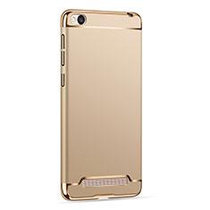 Custodia Lusso Metallo Laterale e Plastica per Xiaomi Redmi 4A Oro