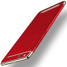 Custodia Lusso Metallo Laterale e Plastica per Xiaomi Redmi 5A Rosso