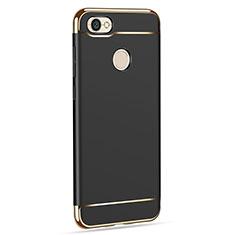 Custodia Lusso Metallo Laterale e Plastica per Xiaomi Redmi Y1 Nero