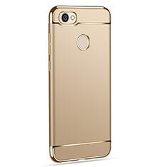Custodia Lusso Metallo Laterale e Plastica per Xiaomi Redmi Y1 Oro