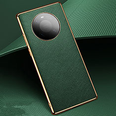 Custodia Lusso Pelle Cover K02 per Huawei Mate 40 Verde