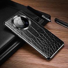 Custodia Lusso Pelle Cover K05 per Huawei Mate 40 Pro Nero