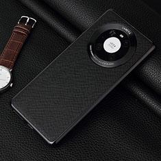 Custodia Lusso Pelle Cover K06 per Huawei Mate 40 Pro Nero