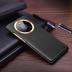 Custodia Lusso Pelle Cover L01 per Huawei Mate 40 Nero