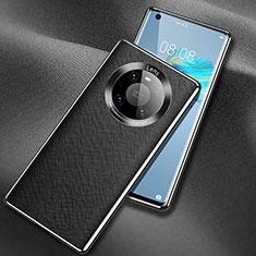 Custodia Lusso Pelle Cover L02 per Huawei Mate 40 Nero