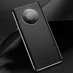 Custodia Lusso Pelle Cover L03 per Huawei Mate 40 Pro+ Plus Nero