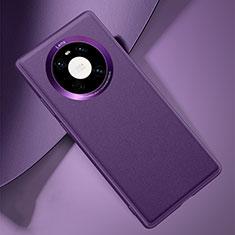 Custodia Lusso Pelle Cover L03 per Huawei Mate 40 Viola