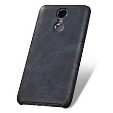 Custodia Lusso Pelle Cover per Huawei Enjoy 6 Nero