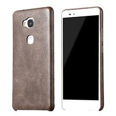 Custodia Lusso Pelle Cover per Huawei GR5 Marrone