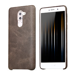Custodia Lusso Pelle Cover per Huawei Honor 6X Marrone