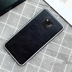Custodia Lusso Pelle Cover per Huawei Mate 20 Pro Nero