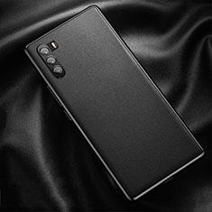 Custodia Lusso Pelle Cover per Huawei Mate 40 Lite 5G Nero
