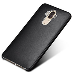 Custodia Lusso Pelle Cover per Huawei Mate 9 Nero