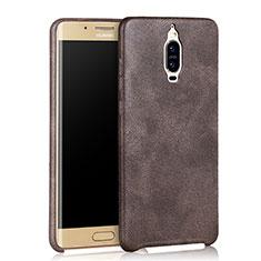 Custodia Lusso Pelle Cover per Huawei Mate 9 Pro Marrone