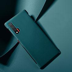 Custodia Lusso Pelle Cover per Huawei Nova 6 5G Blu