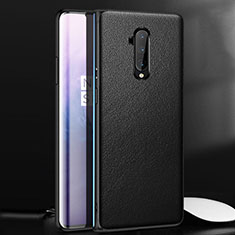 Custodia Lusso Pelle Cover per OnePlus 7T Pro Nero