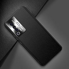 Custodia Lusso Pelle Cover per Vivo X50 5G Nero