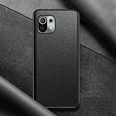 Custodia Lusso Pelle Cover per Xiaomi Mi 11 5G Nero