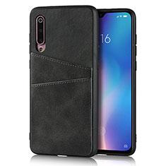 Custodia Lusso Pelle Cover per Xiaomi Mi 9 SE Nero