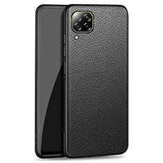 Custodia Lusso Pelle Cover R01 per Huawei P40 Lite Nero