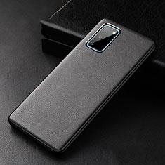 Custodia Lusso Pelle Cover R02 per Samsung Galaxy S20 5G Nero