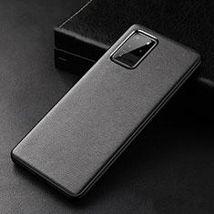 Custodia Lusso Pelle Cover R02 per Samsung Galaxy S20 Ultra 5G Nero