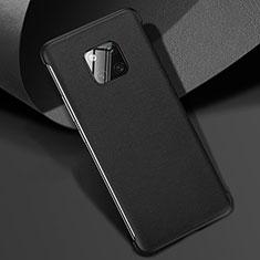 Custodia Lusso Pelle Cover R04 per Huawei Mate 20 Pro Nero
