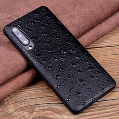 Custodia Lusso Pelle Cover R04 per Xiaomi Mi A3 Nero