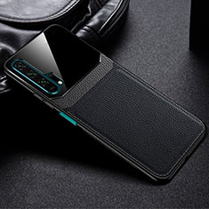 Custodia Lusso Pelle Cover R05 per Huawei Honor 20 Pro Nero