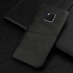 Custodia Lusso Pelle Cover R05 per Huawei Mate 20 Pro Nero