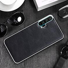 Custodia Lusso Pelle Cover R06 per Huawei Honor 20 Pro Nero
