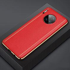 Custodia Lusso Pelle Cover R07 per Huawei Mate 30 Pro 5G Rosso
