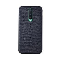 Custodia Lusso Pelle Cover R07 per OnePlus 8 Nero
