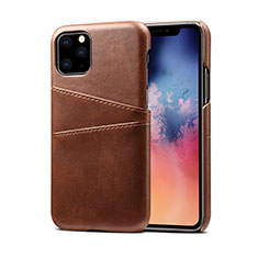 Custodia Lusso Pelle Cover R10 per Apple iPhone 11 Pro Marrone
