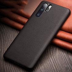 Custodia Lusso Pelle Cover R11 per Huawei P30 Pro Nero