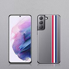Custodia Lusso Pelle Cover S02 per Samsung Galaxy S21 5G Multicolore