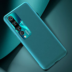 Custodia Lusso Pelle Cover T01 per Xiaomi Mi 10 Verde