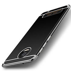 Custodia Morbida Silicone Lucido per Motorola Moto Z Play Argento
